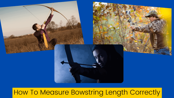 How to measure bow string length